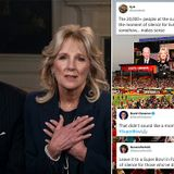 Joe and Jill Biden's Super Bowl moment of silence booed by crowd