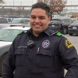 Dallas Police Officer Trainee Gets Chief's Attention