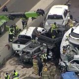 6 Killed, Dozens Hurt as 130 Vehicles Collide on 'Sheets of Ice' in Massive Fort Worth Pileup