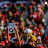 White evangelicals are more likely to believe in QAnon than any other faith group, poll finds