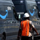 Amazon uses an app called Mentor to track and discipline delivery drivers