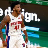 Saddiq Bey's rookie-record night lifts shorthanded Pistons over Celtics