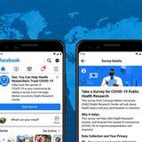 Facebook Expands Coronavirus Symptom Survey Globally