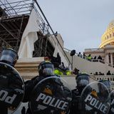 New radio and video footage from Capitol riot shows a coordinated attack and officers' restraint