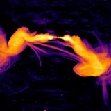 Strange Extragalactic Strands Mystify Astronomers