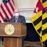 Maryland Gov. Larry Hogan laments shortage of COVID vaccine; mass vaccine site at M&T Bank Stadium to open Feb. 25