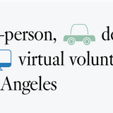 L.A. volunteering during COVID: In person, virtual options