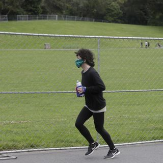 For Runners, Is 15 Feet the New 6 Feet for Social Distancing?