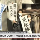 Govt. ordered to compensate Fukushima evacuees | NHK WORLD-JAPAN News