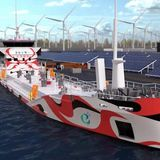 Soon an electric tanker with a huge 3.5 MWh battery