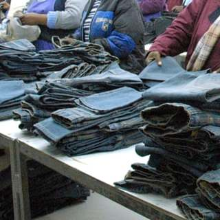 Bosses Force Female Workers Making Jeans For Levis and Wrangler Into Sex