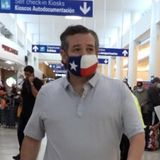"""Critics accuse Ted Cruz of """"fake compassion"""" as he hands out water after Mexico trip"""