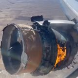 WATCH: Terrifying Video of United 328's In-Flight Engine Failure