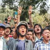 Thousands rally in Myanmar after the bloodiest day of anti-coup protests so far
