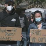 Activists speak out against spate of anti-Asian hate incidents at rally in L.A.'s Chinatown