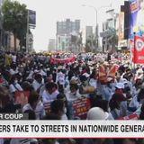 Protesters joining nationwide strike in Myanmar | NHK WORLD-JAPAN News