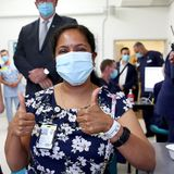 'An amazing day': Thousands of frontline workers across Australia get the COVID-19 vaccine