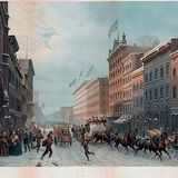 What an 1850s winter scene says about New York life