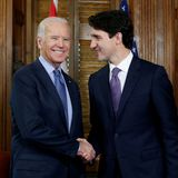 Climate, pandemic and economy on the agenda as Biden and Trudeau meet Tuesday in effort to renew ties