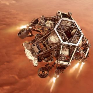 The Science of Awe and the Mars Perseverance Rover