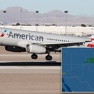 AA flight shares close encounter with 'fast-moving cylindrical object'