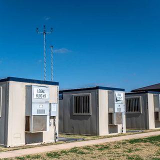 First migrant facility for children opens under Biden