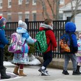 Baker administration calls for Mass. elementary students to be in school five days a week in April, with older students to follow - The Boston Globe