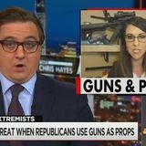 MSNBC Compares GOP Congresswoman to Osama Because She Posed With Guns