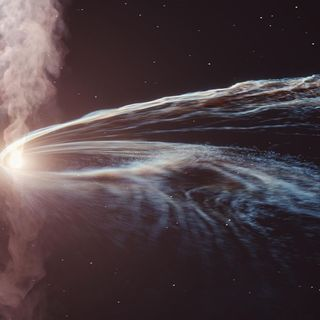 Ghost particle that crashed into Antarctica traced back to star shredded by black hole