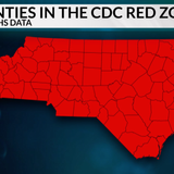99 NC counties fall in CDC's 'red zones' under new school-opening guidance