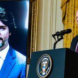 Justin Trudeau Makes Subtle 'Leadership' Dig At Trump During Biden Call