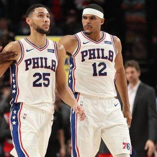 76ers' Tobias Harris shares the advice he gave Ben Simmons amid James Harden trade rumors