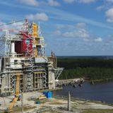 NASA delays 2nd test fire of SLS megarocket booster due to valve issue