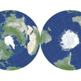 Astrophysicists create the most accurate 'flat map' of Earth ever