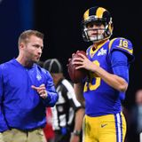 Sean McVay: It's unfair to put our reduced offensive production all on Jared Goff - ProFootballTalk