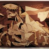 """Picasso's anti-war """"Guernica"""" tapestry removed from U.N. headquarters after decades on display"""