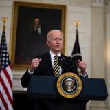In Message to Iran, Biden Bombs Syria