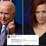 Biden and Psaki underfire for past tweets slamming Trump's airstrikes