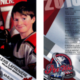 Woman arrested in Quebec City for selling fake Alexis Lafreniere Peewee hockey cards