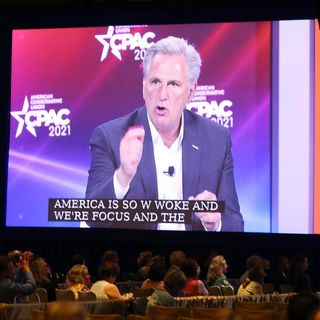 Kevin McCarthy's CPAC panel shows how the GOP has devolved into a Trump personality cult