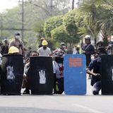 Myanmar police crack down on protests; U.N. ambassador denounces coup