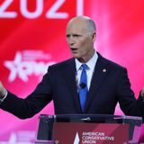 Ahead of Trump CPAC speech GOP Senator Rick Scott says Biden won election fair and square