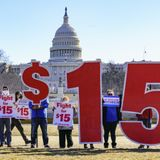 Minimum wage hike all but dead in big COVID relief bill