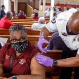 Blacks/Hispanics die more of Covid, get vaccinated less