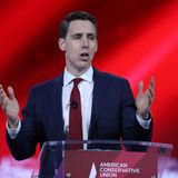 Josh Hawley, under fire for obstruction and capitol riot, fails to win over CPAC
