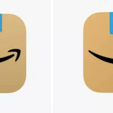 Amazon tweaks cardboard box tape in new app icon after some saw Hitler's mustache in the design