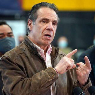 New York state Senate majority leader says Gov. Andrew Cuomo 'must resign'