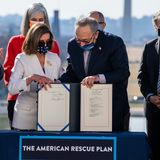 Rescue Bill, Passed by Democrats Alone, Hugely Popular With the Public