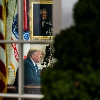 Ten minutes at the teleprompter: Inside Trump's failed attempt to calm coronavirus fears