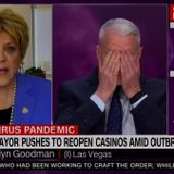 Las Vegas Mayor Carolyn Goodman Battles Anderson Cooper